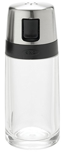 - OXO Good Grips Salt Shaker with Pour Spout