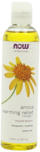 NOW Arnica Warming Massage 8 Ounce product image