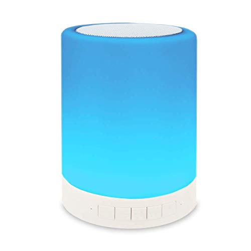 Portable Bluetooth Speaker 2000mAh Wireless Rechargeable Table Lamp Best Gift in Christmas Holiday