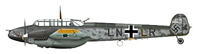 Bf 110E 1/72 Die Cast Model, I.(Z)JG 77, Lt. Felix-Maria Brandis, Malmi, Finland, 1942