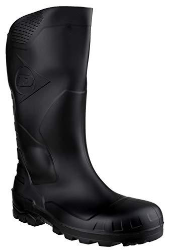 Dunlop Devon Full Safety Wellington Mens Boot, S5