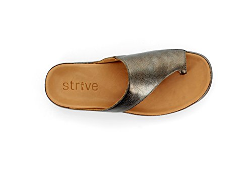 Antracite Capri Footwear Strive Stylish Orthotic Sandal qOpXS6