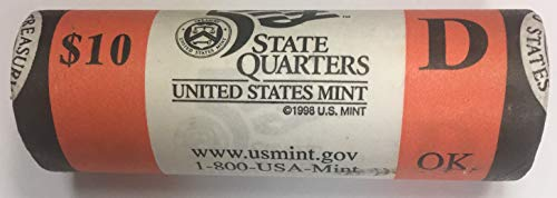 2008 D Oklahoma State Quarter Roll US Mint BU