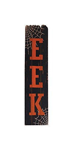 Eek Wood Standing Decor