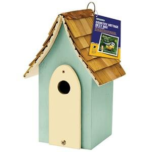 Country Cottage Nest Box Green by Generic