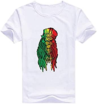 Round Neck Pop Tiger T-Shirt For Men