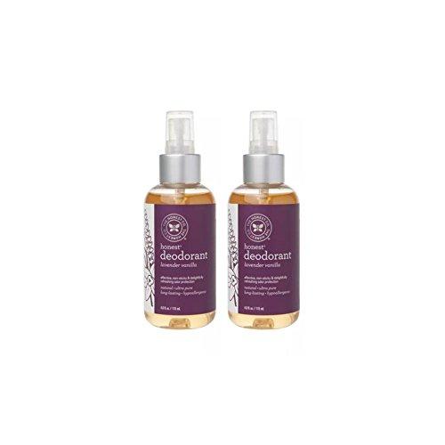 Honest Deodorant Lavender Vanilla Pack
