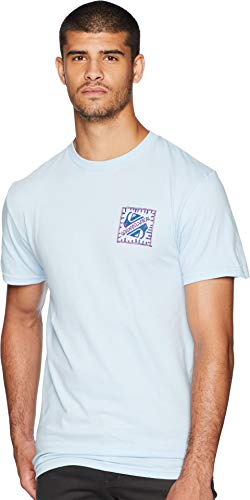 Quiksilver Men's Logo TEE Shirt, Saved by The swell Angel Falls, ()
