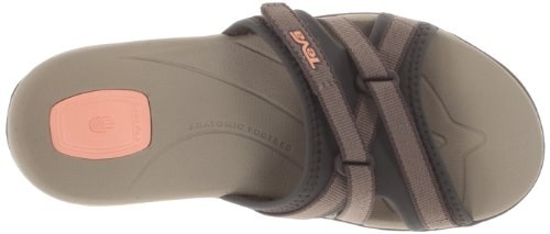 Teva Womens Tirra Slide Sandal Brown Vug5t9E