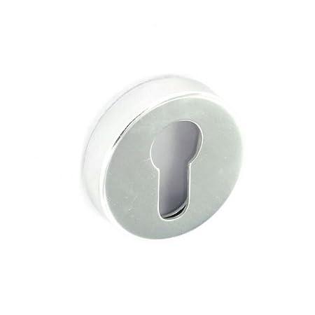 Securit Euro Lock embellecedor de latón pulido de aluminio pulido - 50 mm: Amazon.es: Bricolaje y herramientas