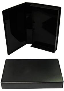 BLACK VHS LIBRARY CASE PSV10 VIDEO CASE NO HUB 100 PCS