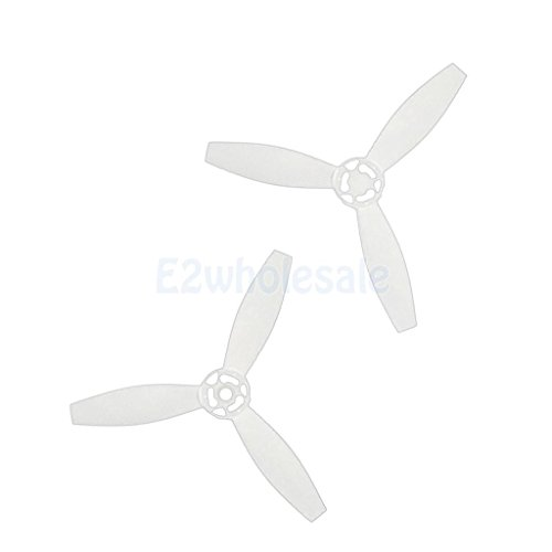 For Parrot Bebop 2 Drone Quadcopter White Propeller Props (1 Pairs) by e2wholesale