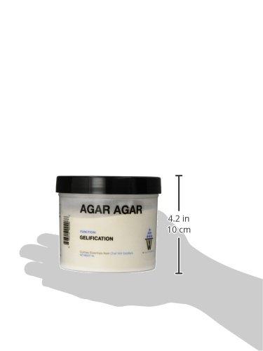 WillPowder AGAR AGAR, 16-Ounce Plastic Canister by WillPowder (Image #2)