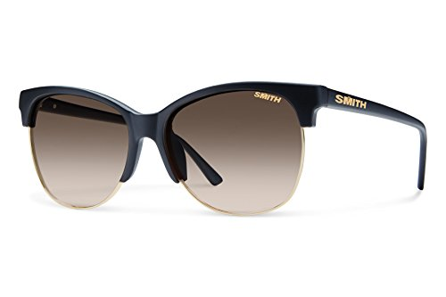 Smith Optics Rebel Carbonic Polarized Sunglasses, Matte Black, Brown Gradient (Rebel Matte)