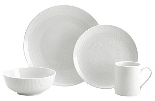 Mikasa 5224194 Cheers 16-Piece Dinnerware Set, Service for ()