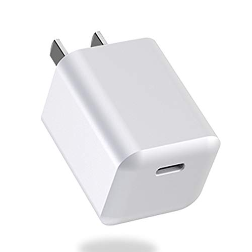 iPhone Fast Charger, Mini 18W/20W USB C Charger for iPhone 12/12 Mini /12 Pro Max, Power Delivery 3.0 iPad Pro Charger, PD Charger Compatible with iPhone 11 Pro Max, iPhone 8 Plus,airpods pro (20W)