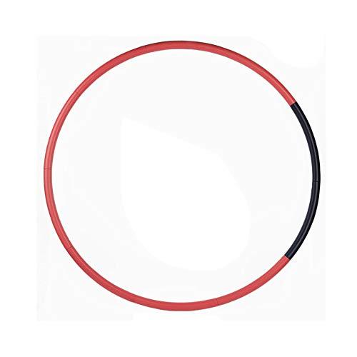 JingHeYongKeJi Hula Hoop PE Adult Weighted Hula Hoop Detachable Travel Fitness Accessory Exercise Hula Hoop