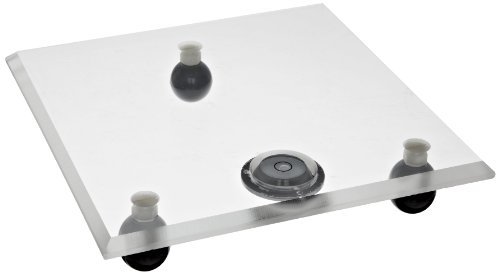 Bel-Art Acrylic Leveling Table; 8 x 8 x ⅜ in. (H18310-0000)
