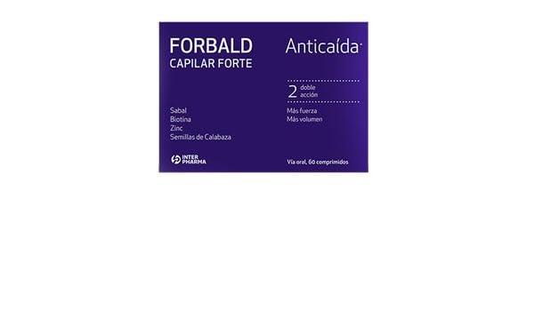 FORBALD CAPILAR FORTE 60 Capsulas: Amazon.es: Salud y cuidado personal