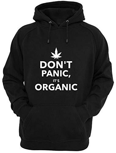 Danielles Custom Crafts Shirt Weed T Cannabis Organic Hoodie Designed Graphic Funny Gift Marijuana Black