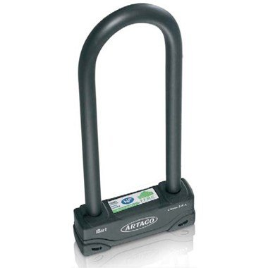 Artago 18ART320 Motorcycle Extreme U-Lock - 18 mm Diameter maximum Security Level by Artago Secure