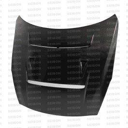 Seibon DV-Style Carbon Fiber Hood for 2009-2015 Nissan GTR (Dv Seibon Hoods)