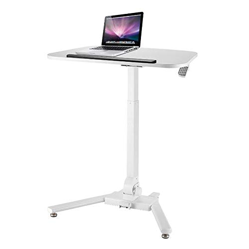 NAN Liang Laptop Cart Height Adjustable Lectern Foldable Standing Desk Home Mobile Floor Lifting Workbench, H63-89CM (Mobile Floor Lectern)