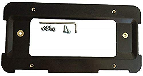 Rear License Plate Mount Bracket for Mini Cooper + 6 Unique Screws and Wrench Kit