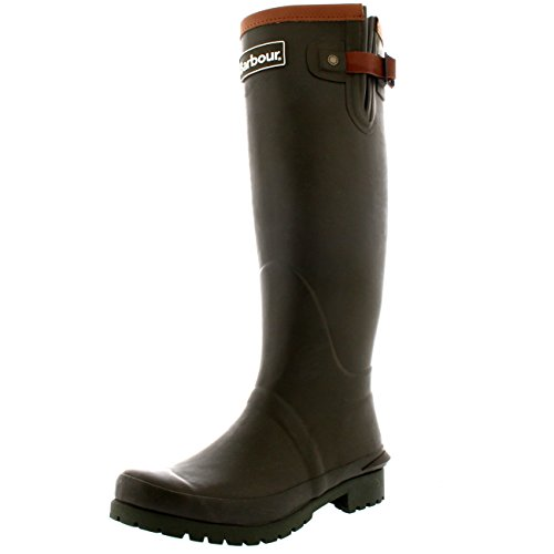 Winter Womens Olive Wellingtons Barbour Blyth Waterproof Boots Black Rubber aqwqtHBx