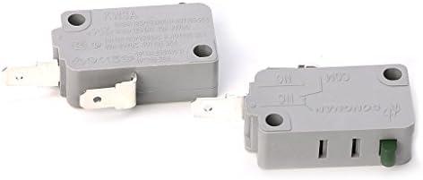 FangWWW 2 piezas KW3A Microinterruptor para puerta de horno de ...