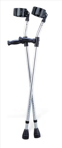 Medline Guardian Forearm Crutches, Tall, Adult ()