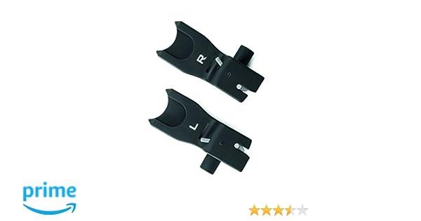 Concord - Adaptador clip/air.safe de portabebés air.safe para silla de paseo negro: Amazon.es: Bebé