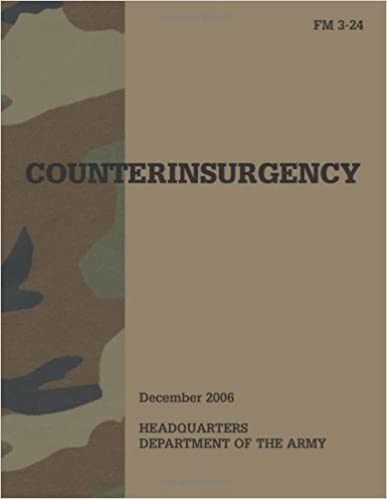 Amazon Com Counterinsurgency Fm 3 24 2006 9781581606065 U S Army Lt General David Petraeus Lt General James F Amos Books