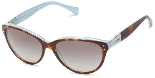 Ralph Lauren 0RA5168 601/11 Cat Eye Sunglasses,Tortoise & Turqoise,56 (Ralph Prescription Sunglasses)