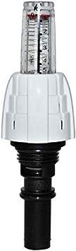 mit Stellantrieb 230V, 5 Aufputz Verteilerschrank Fu/ßbodenheizung Edelstahl-Heizkreisverteiler Stellantrieb SET