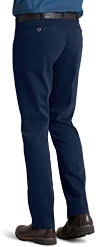 MEYER Pantalon Homme Diego Coton - 9-3000 Marine - Satin Chino
