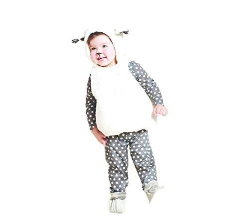 Baby Plush Lamb Vest Costume - 12-18 months