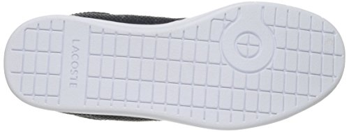 Lacoste Women's Carnaby Evo Text/Leather Sneaker