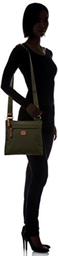 Crossbody x Cross One 0 2 Body Olive Bag Envelope Size Travel Urban Women's Olive Bric's B7q500