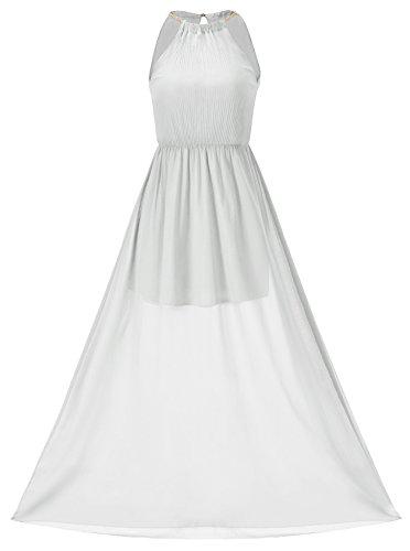 Howriis Womens Chiffon Sleeveless Dresses