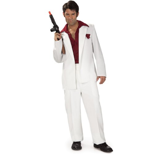 Rubies Costume Co Scarface Adult Costume,Multicolored,One