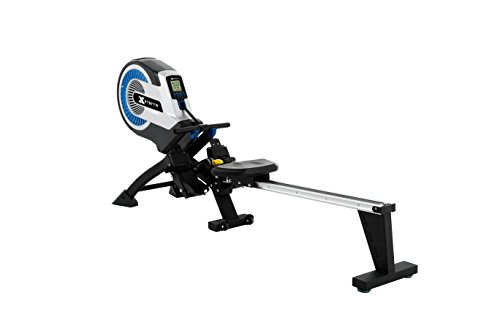 XTERRA ERG500 Air Turbine Rower, Silver/Black by XTERRA