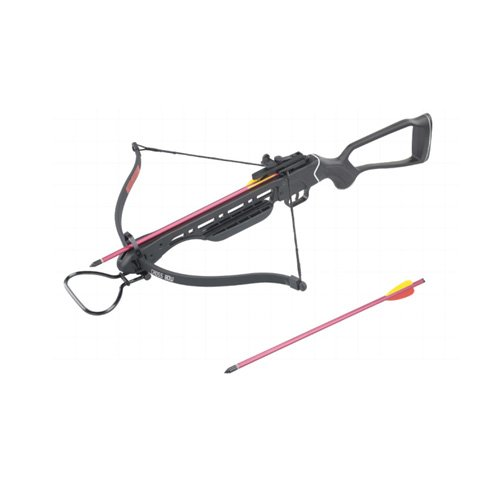 Wizard 150lb Crossbow Fiberglass Stock Aluminum 2 Arrows