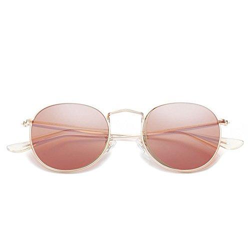 de de mode lunettes soleil personnalité rétro cadres de de 6 Shop lunettes soleil nouvelle rétro Cadre soleil rond soleil circulaires Lunettes couleur lunettes Huit film f07n7qU