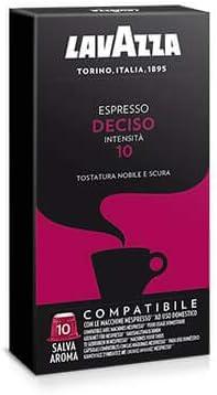 100 capsule caffè Lavazza compatibili NESPRESSO MISCELA DECISO