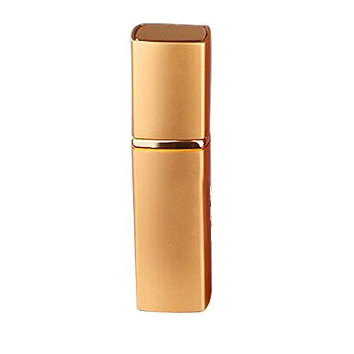 Linghang 20ML Upscale Travel Size Perfume Bottle Aftershave Makeup Remover Empty Bottle for Travel Purse (Gold) (Aftershave Container compare prices)