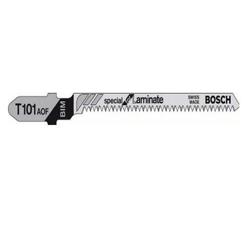 Bosch 2608636432 3 Lames de scie sauteuse pour bois dur T 101 AOF