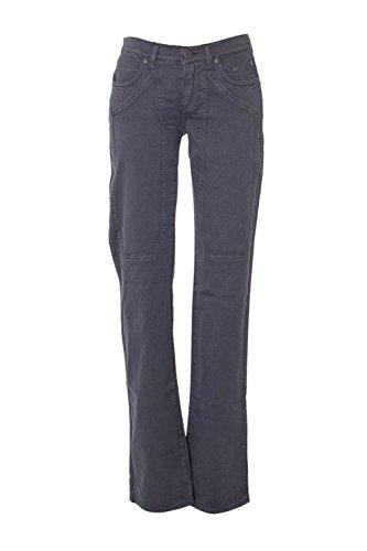 Jeckerson Femme 23PUJDXP01ST03391GREY Gris Coton Jeans