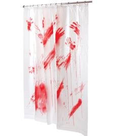 Bloody Shower Curtain 70x72