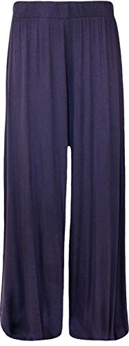 34 Pickle® Femmes Nouveau Palazzos Wide Jambe Navy Chocolate 54 WPwqROgq